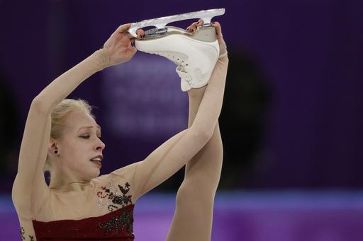 Pyeongchang Olympics Figure Skating Women_242890