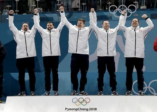 Pyeongchang Olympics Curling Men_243872