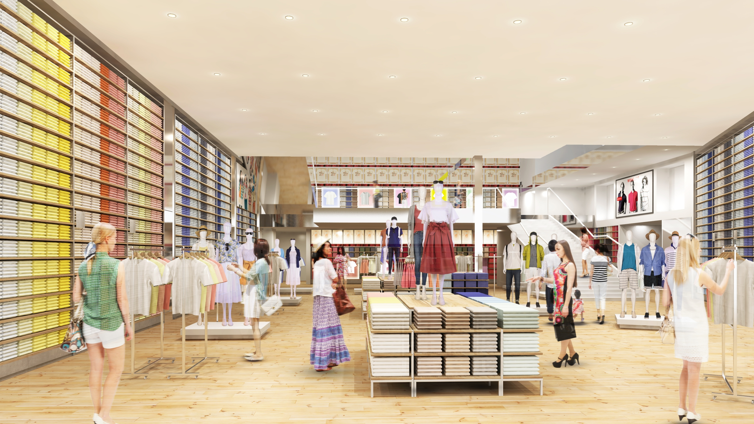 UNIQLO Hawaii store rendering