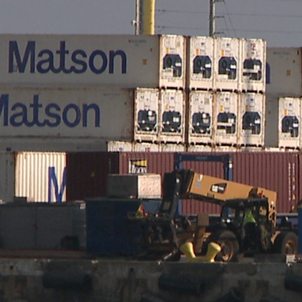 MATSON REFRIGERATED CONTAINERS