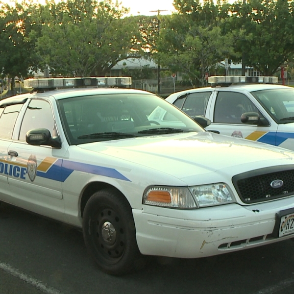 Hawaii County Police Department Big Island police cars