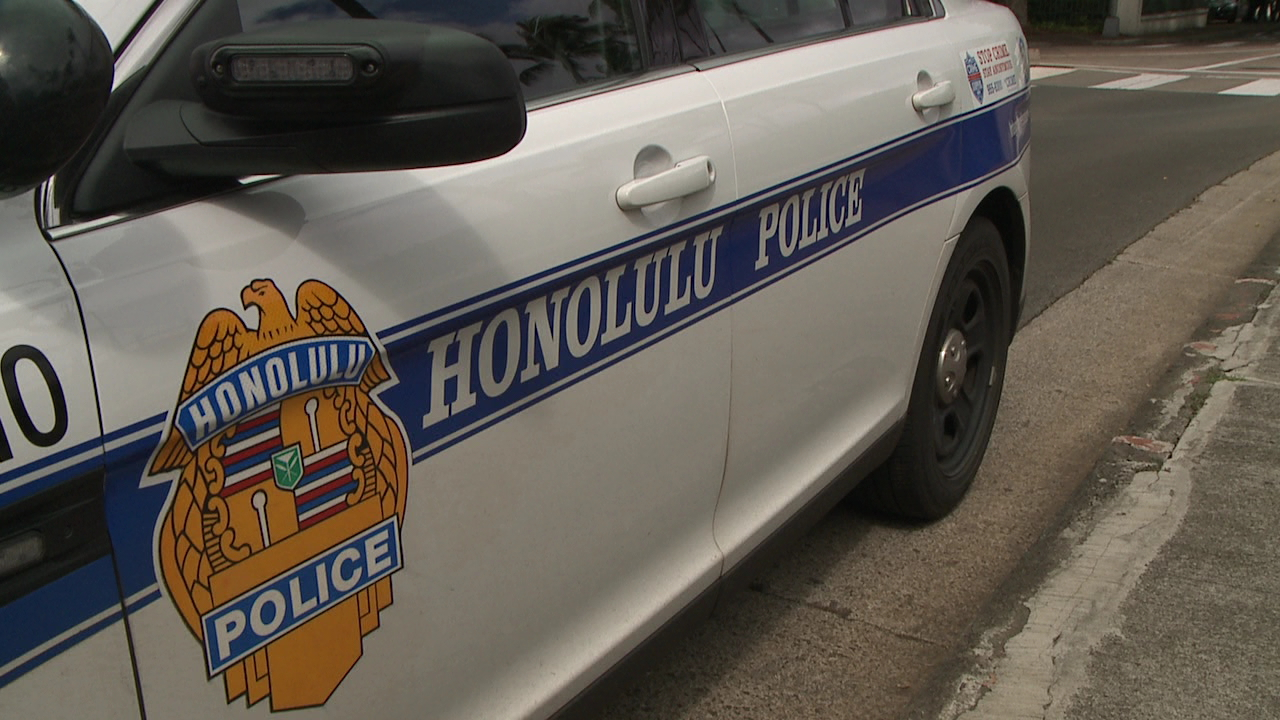 honolulu police hpd patrol car_240250