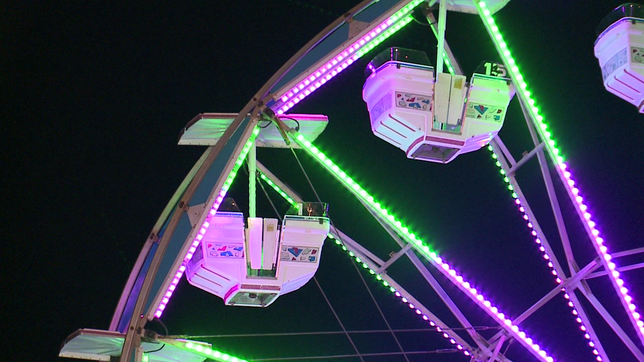 Generic ferris wheel carnival fair
