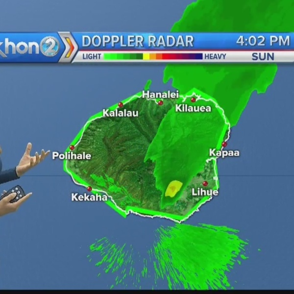KHON2 News Weather at 6