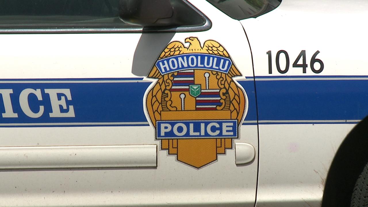 hpd honolulu police patrol car badge generic_168730
