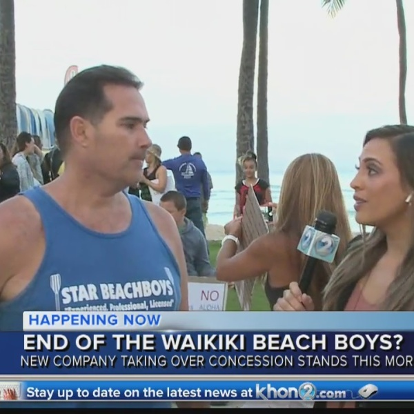 Beachboys in Waikiki Aaron Rutledge