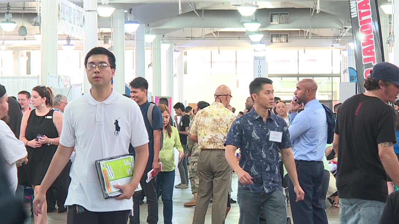 workforce hawaii job fair blaisdell