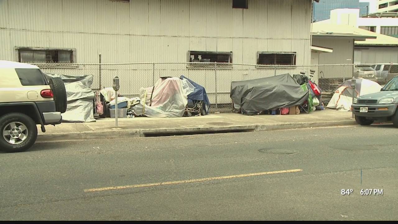 Honolulu mayor wants new bill to clear homeless from Oahu streets
