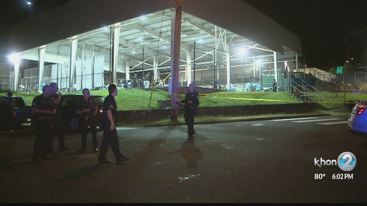 Witnesses say party crashers injure multiple people with baseball bats, knives