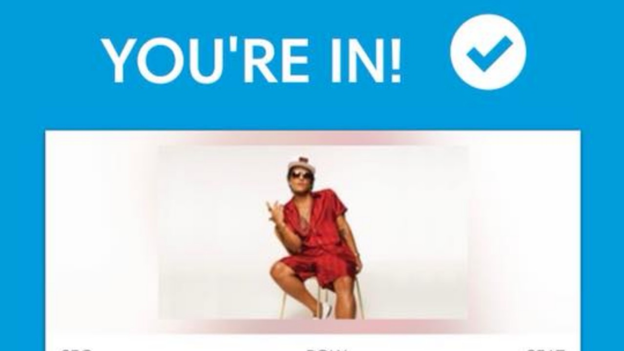 Bruno Mars tickets sell out quickly, second show announced