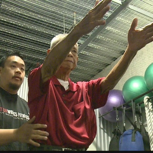 Kupuna Caregiver: Trainer uses fitness expertise to strengthen his family