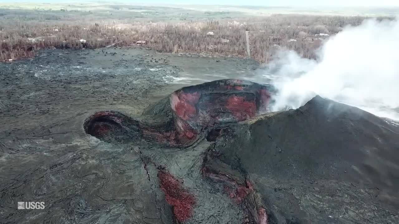 Kīlauea Volcano's lower East Rift Zone (USGS)