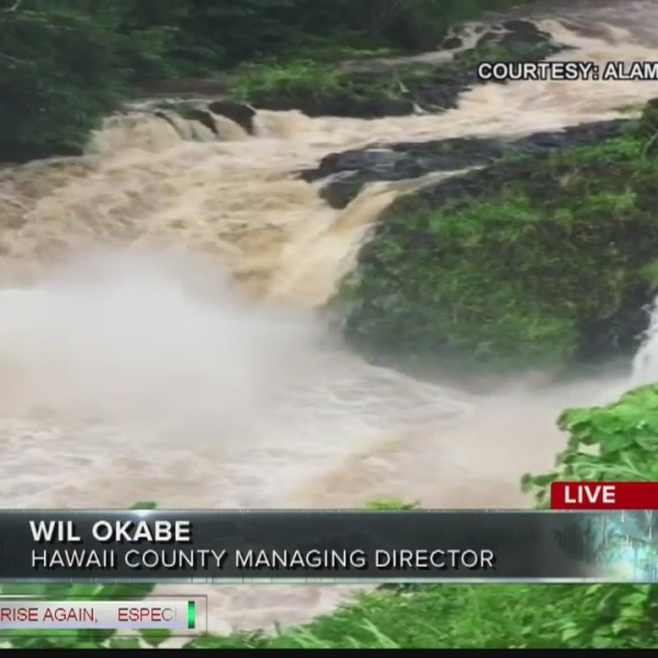 Live interview with Hawaii County Managing Director Will Okabe at 9:23 AM Thursday Morning