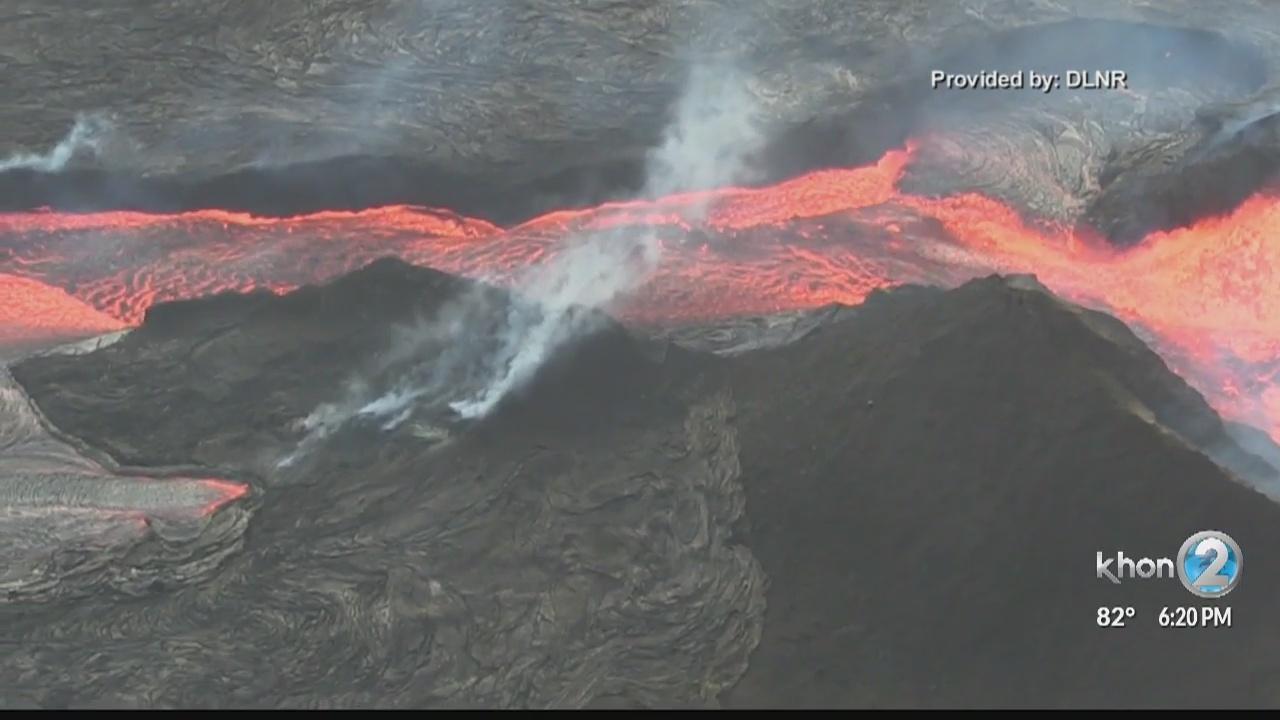 Historic eruption of Kilauea impacts lives, land