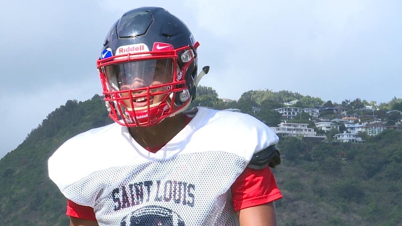 The wait is over for Saint Louis quarterback Jayden DeLaura