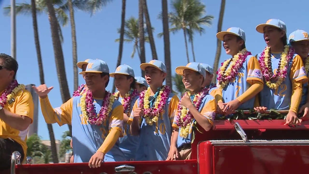 Little League World Champion parade