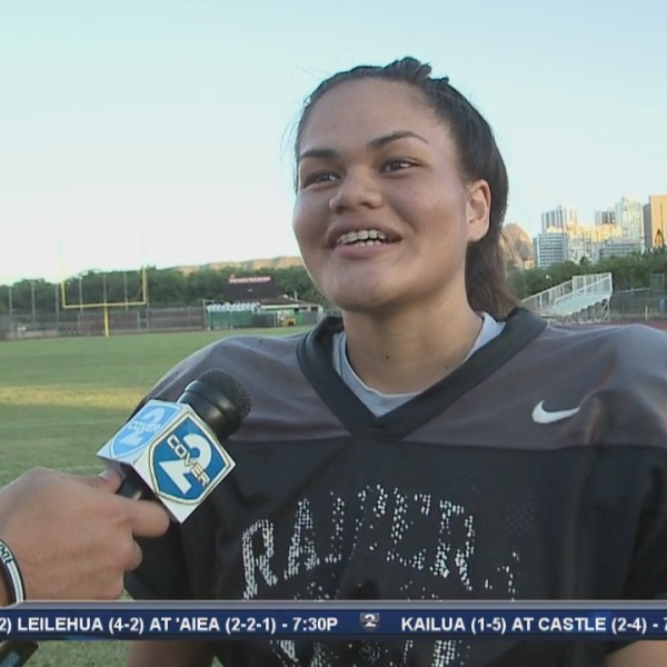On the Road with Iolani's record-setting placekicker Mika Makekau