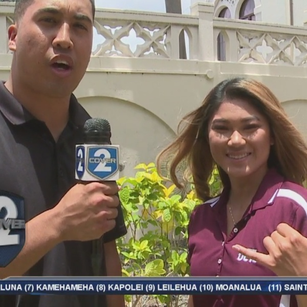 Pop Quiz with Spectrum OC16 sideline reporter Kristy Tamashiro