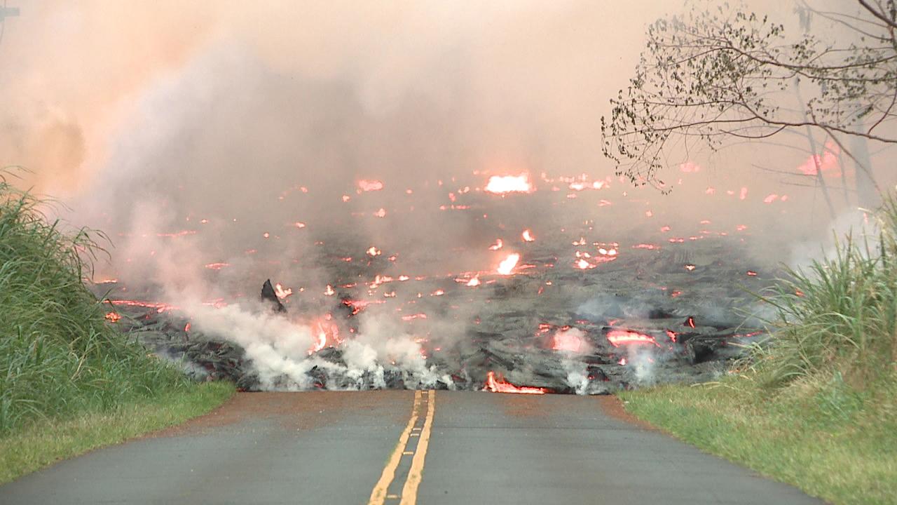 lava flow kilauea leilani estates (2)