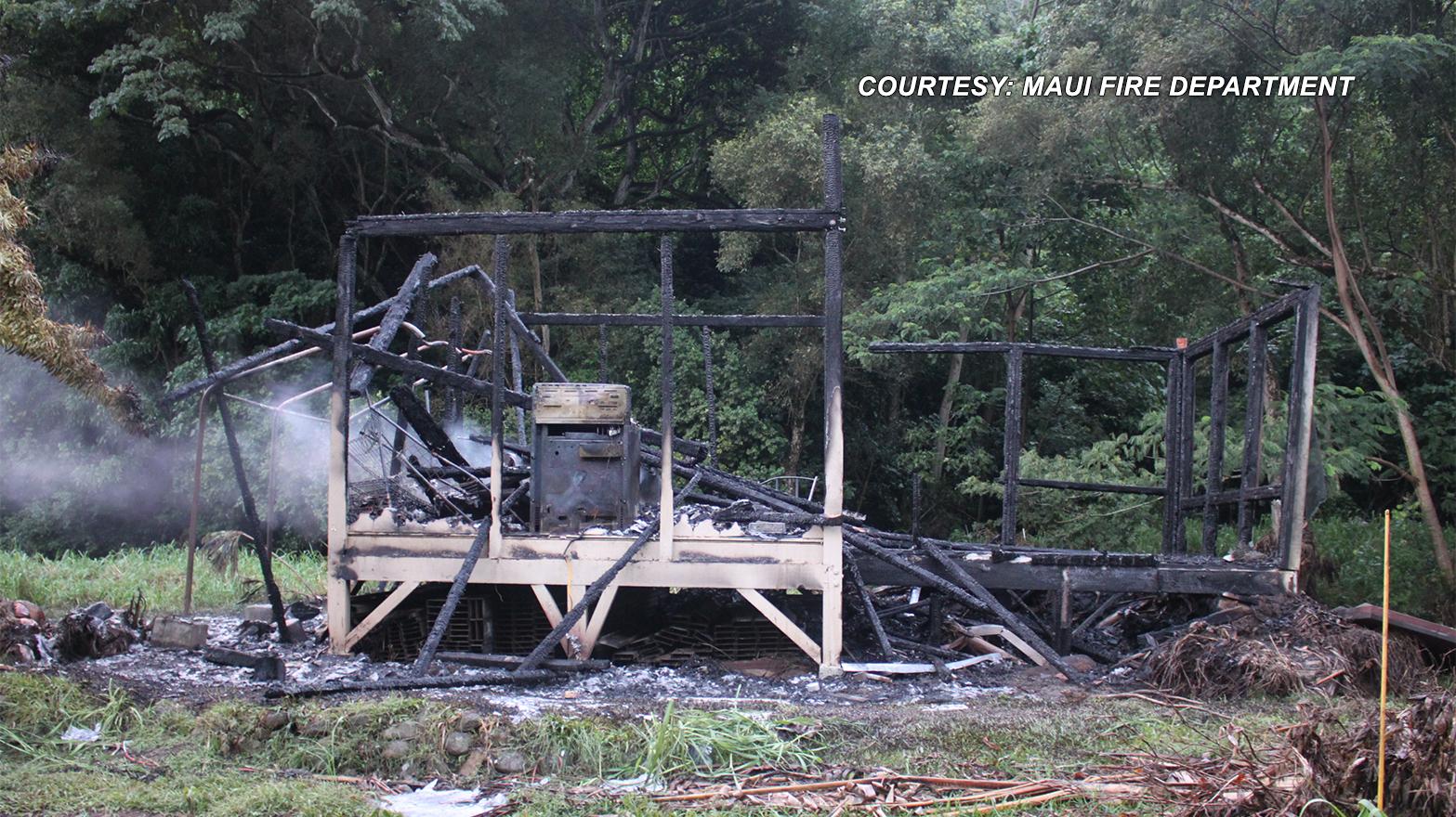 MAUI HONOKOHAU FIRE