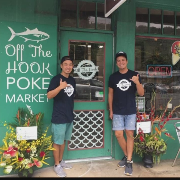 Off the Hook Offers New Poke Concept in Manoa