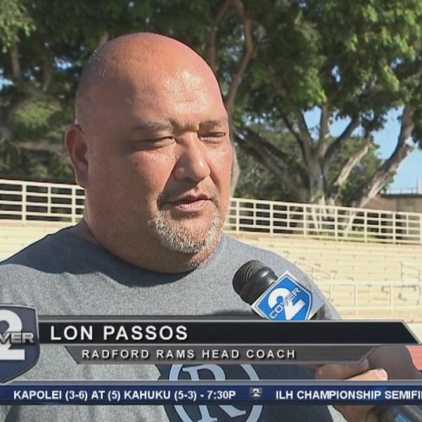 On the Road: Radford Coach Lon Passos