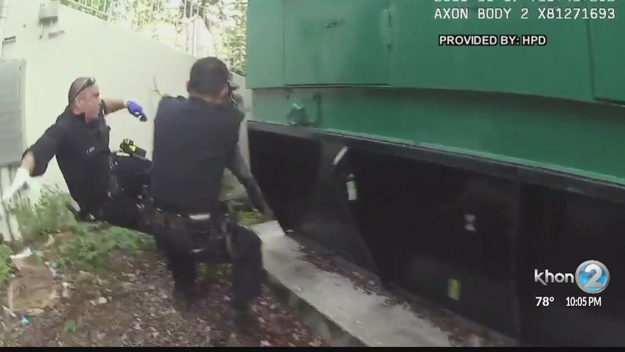 Police release video of officer-involved shooting that