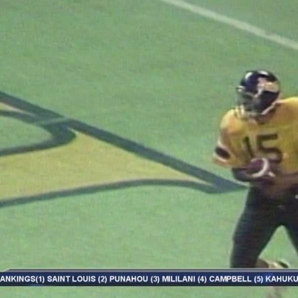 Throwback Thursday: Nanakuli quarterback Alapati Sula