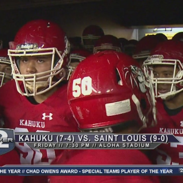 Built FORD Tough Match Up: Kahuku vs. Saint Louis