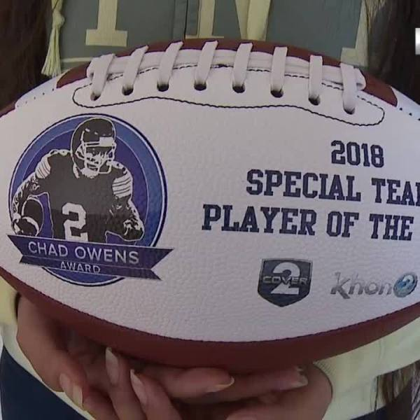 Cover2 Chad Owens Award - Special Teams Player of the Year