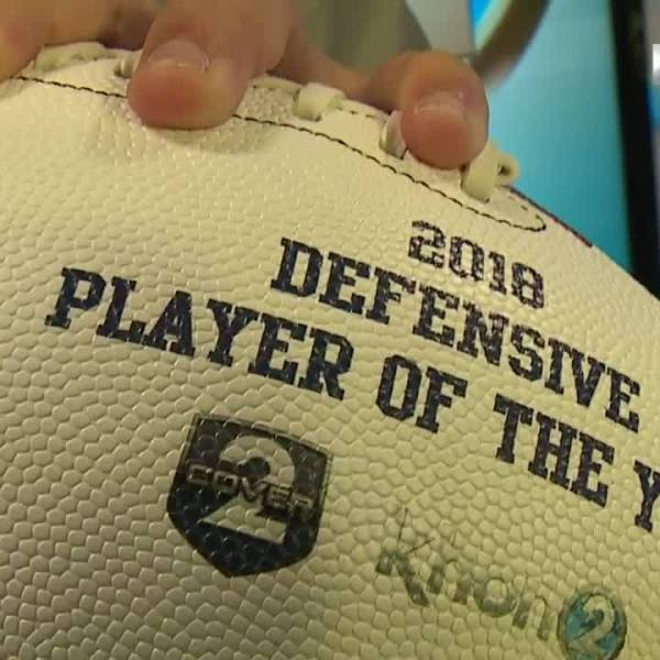 Cover2 Manti Teo Award - Defensive Player of the Year Winner