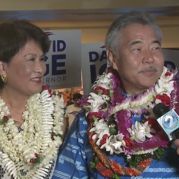 Gov. David Ige ready for another four years as governor