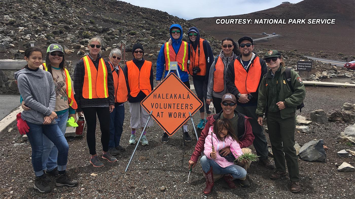 Haleakala Volunteers 2018 EDIT