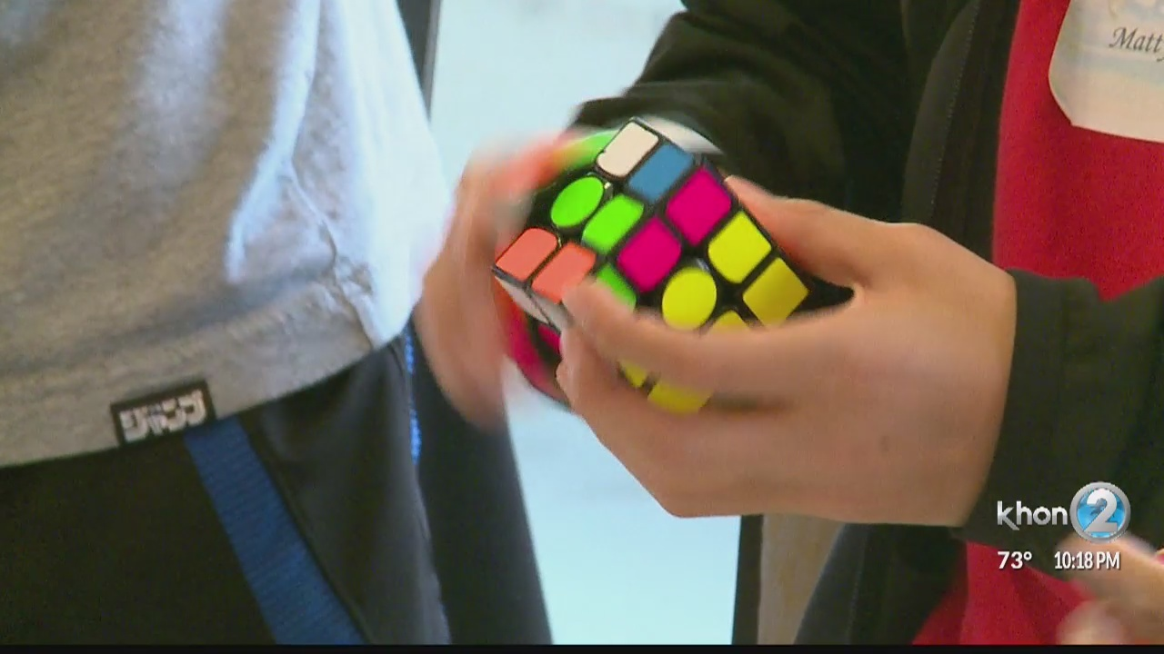 Hawaii Rubik's Cube Competition