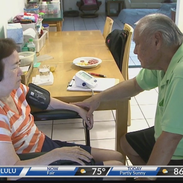 Kupuna Caregiver: Man sacrifices professional bowling dream for the love of his life