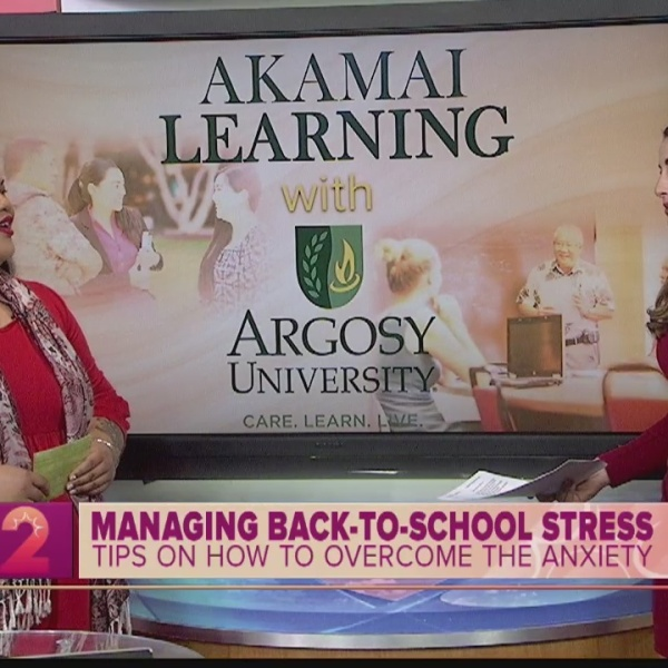 Akamai Learning: Managing Back-to-School Stresses