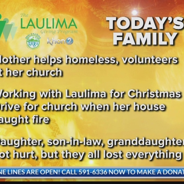 Generous family loses everything in house fire