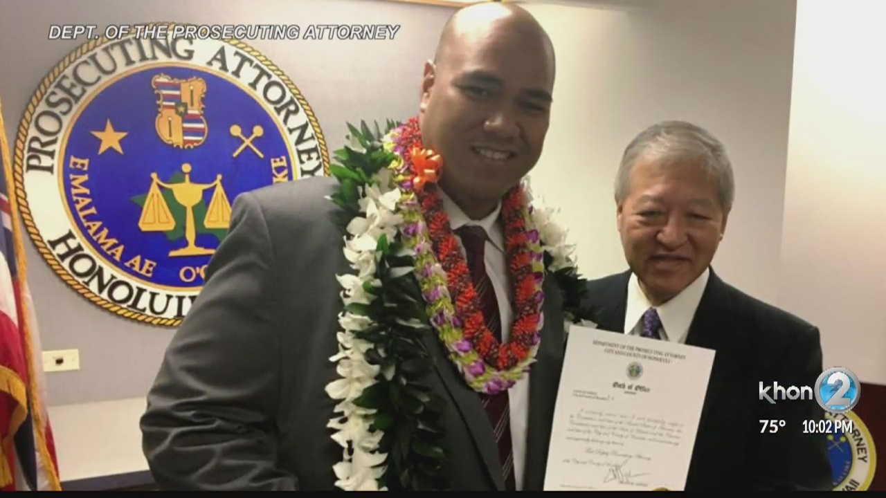 The second in command at the Honolulu Prosecutor's Office has taken a leave of absence after revealing that he is involved in a federal investigation.