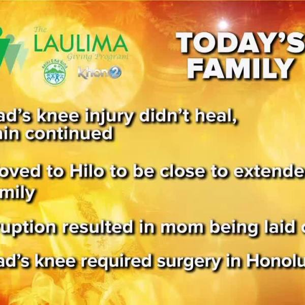Laulima family hit by injury, volcanic eruption