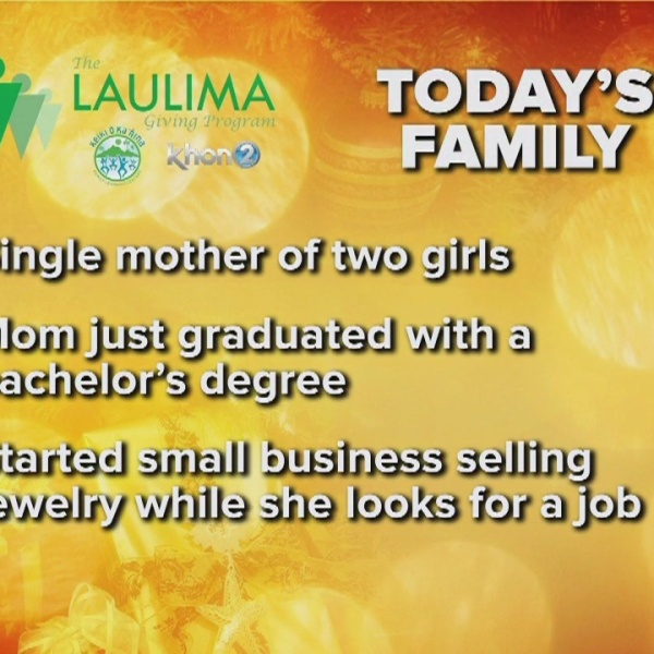 Single mother working to make ends meet to support her ohana