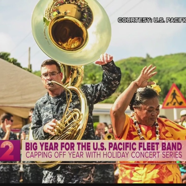 U.S. Pacific Fleet Band Recaps Busy 2018