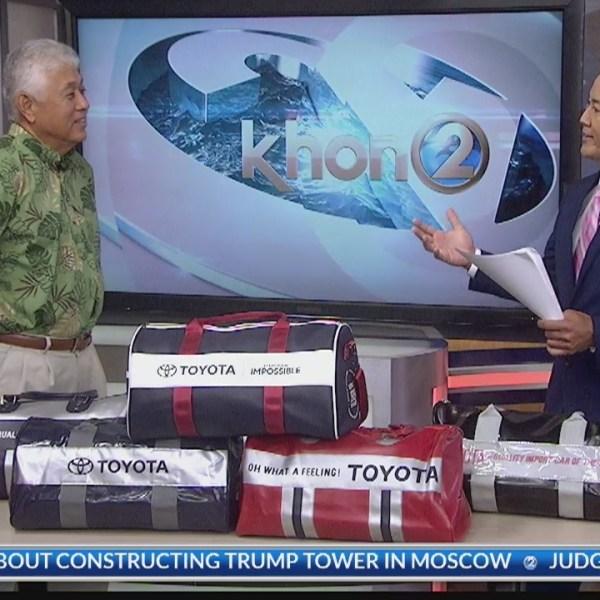 A Hawaii classic: Toyota Sport Bag