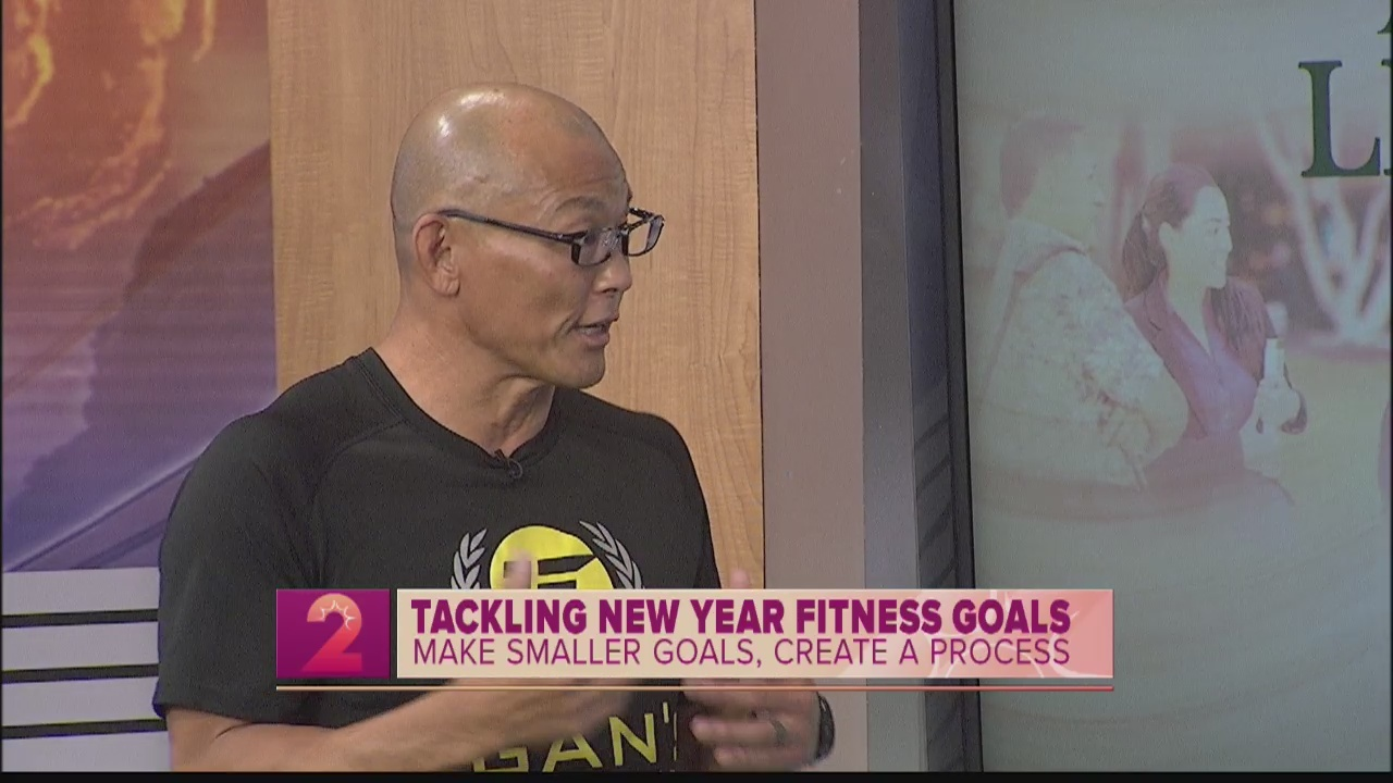 Tips for tackling New Year's fitness goals