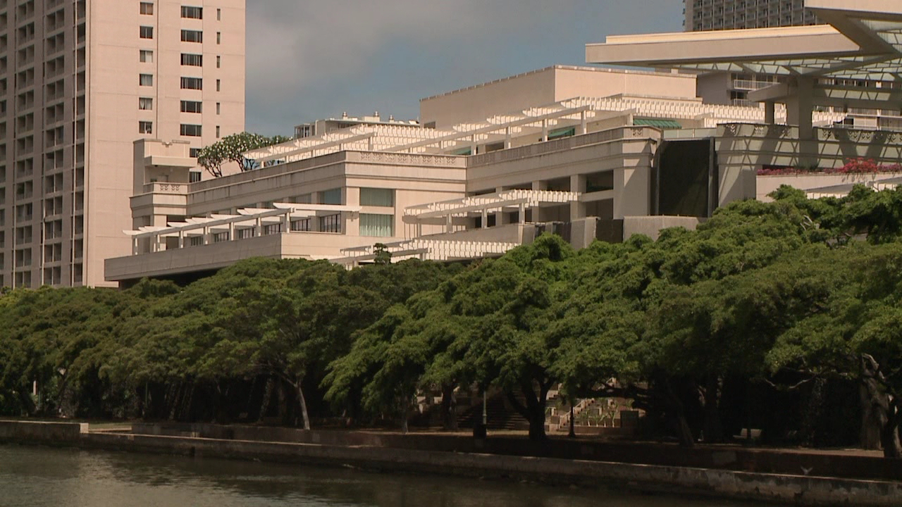 hawaii convention center ala wai canal_164950