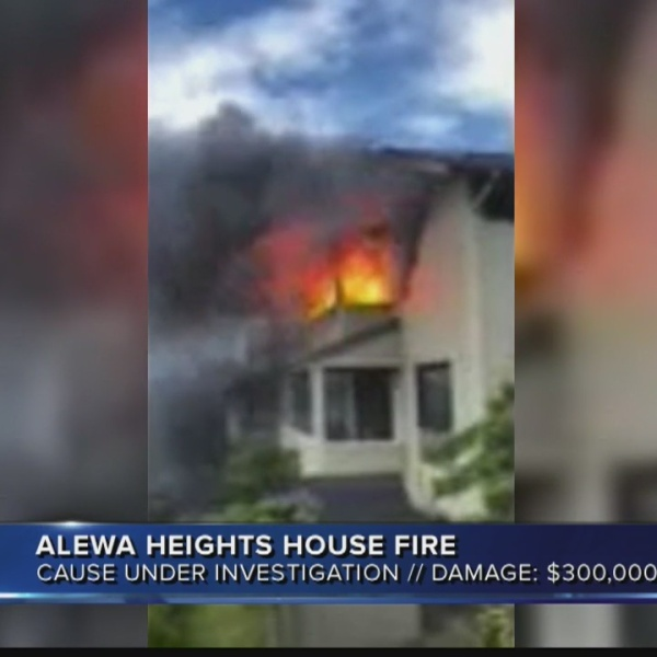 Alewa Heights house fire
