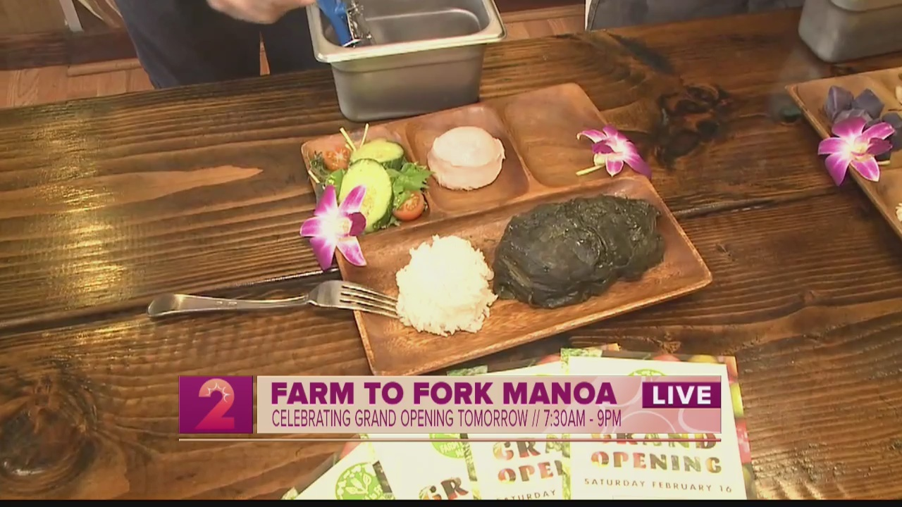 Foodie Fridays:Farm to the Fork Manoa