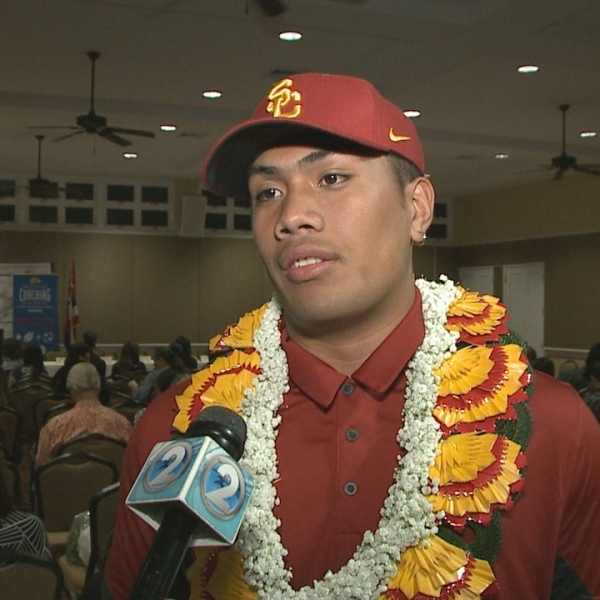 Four-star linebacker Maninoa Tufono heads for USC