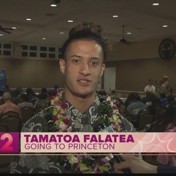 Letter of Intent Signing:Tamatoa Falatea