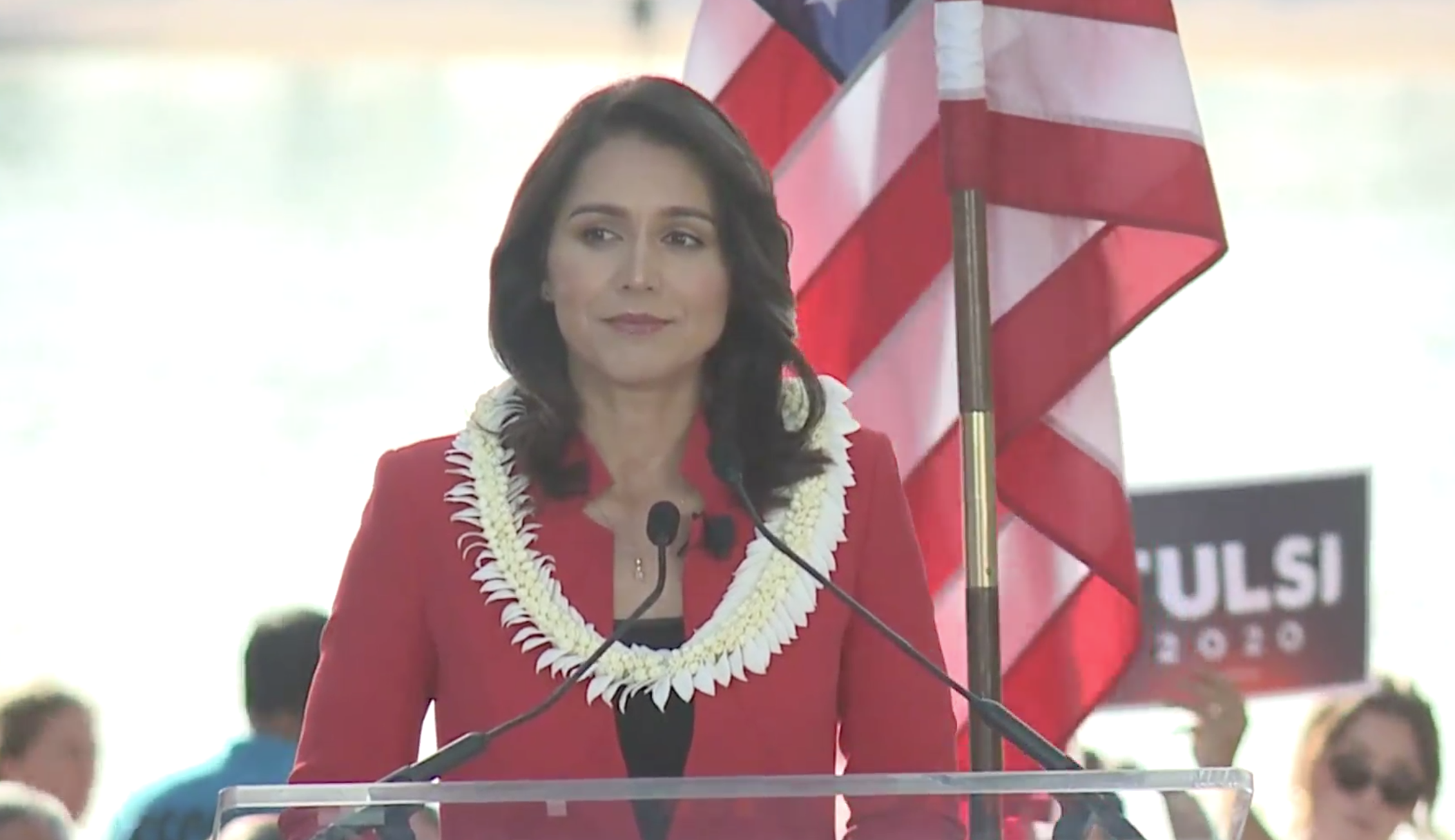 Tulsi Gabbard official announcement 2020 presidential campaign