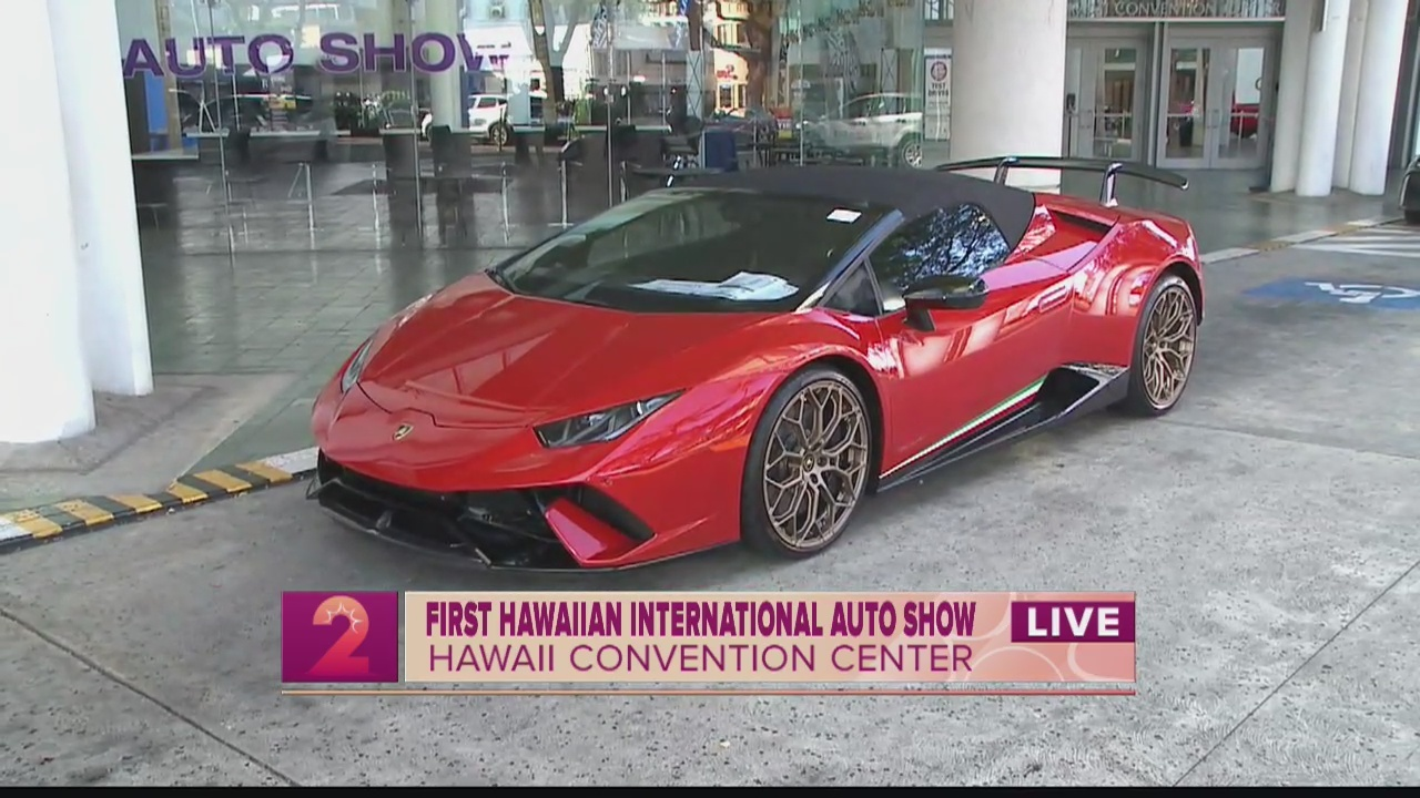 Exotic Rides at The First Hawaiian International Auto Show